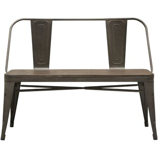 Taylah Metal Bench by Williston Forge