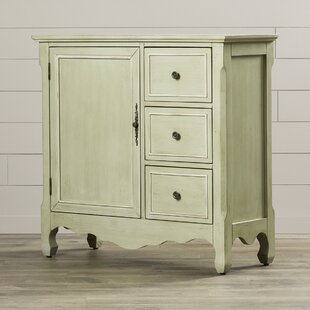 One Allium Way Clifford 1 Door Accent Cabinet