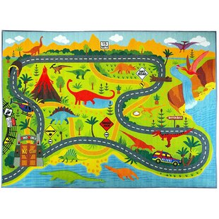 Kids Cars Trucks Amp Trains Rugs You Ll Love Wayfair