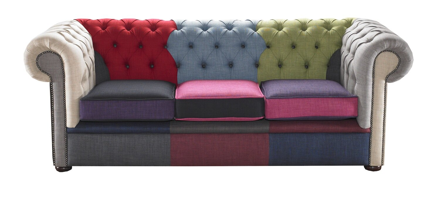 Beautiful Chesterfield 3 Seater Chesterfield Sofa