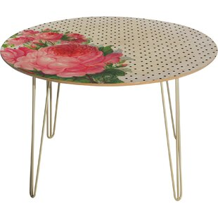 Allyson Johnson Floral Polka Dots Dining Table