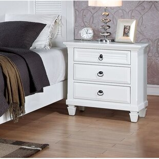 Clearwater 3 Drawer Nightstand by Red Barrel Studio