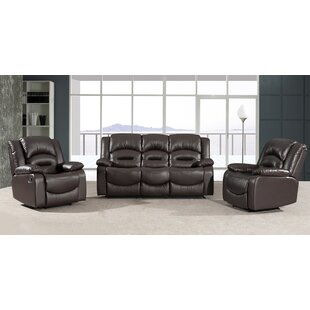 Review Proctorville Reclining Configurable Sofa Set