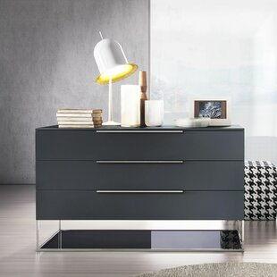 Modloft Bowery 3 Drawer Dresser