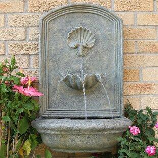 garden wall fountain outdoor quickview outdoor garden wall fountains youll love wayfair