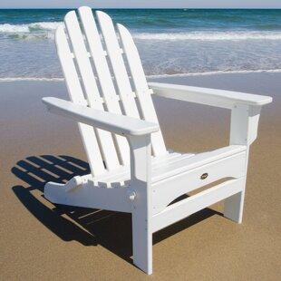 Cape Cod Recycled Plastic Folding Adirondack Chair