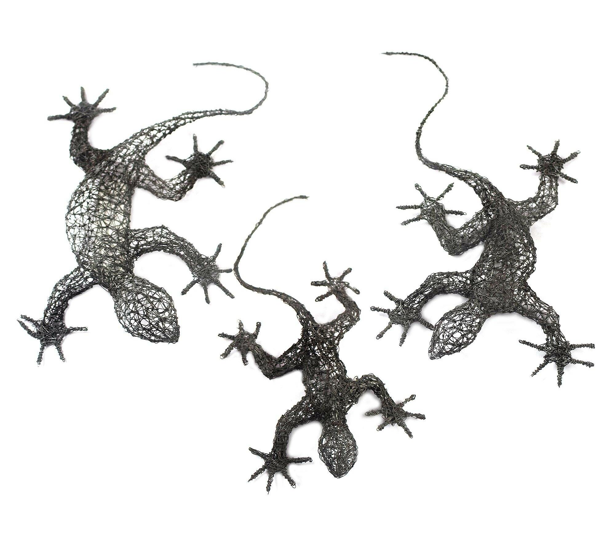 Front cm 3,5 Gold Wire Frame Shabby Wooden to Lizard for Photos Prints-Thick