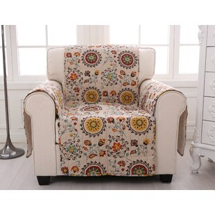 Quilted Box Cushion Slipcover