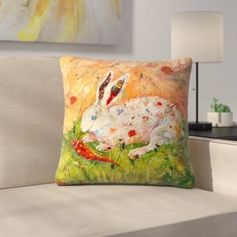 East Urban Home Sunshine Taylor Flam Boy Ant One Indoor Outdoor Throw Pillow Wayfair