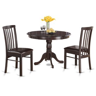 Artin 3 Piece Bistro Set by Andover Mills Spacial Price