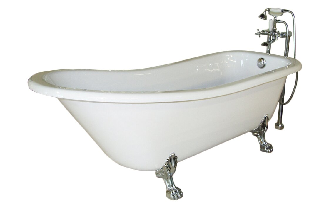 "Picadilly 59"" x 28.75"" Soaking Bathtub"