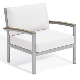 Latitude Run Maclin Teak Patio Chair with..