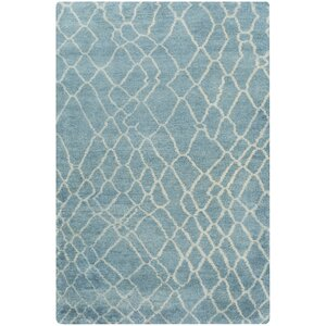Somers Teal Area Rug