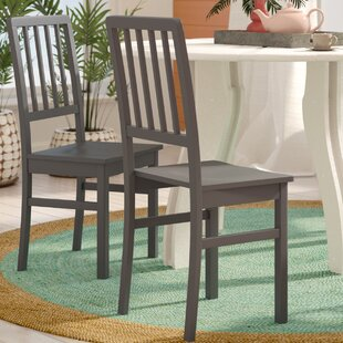 Glenville Solid Wood Dining Chair (Set of 4)