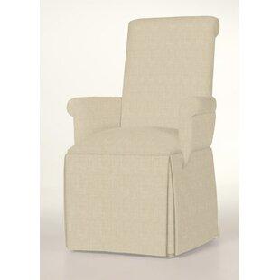 Hadlock Skirted Arm Chair by Alcott Hill