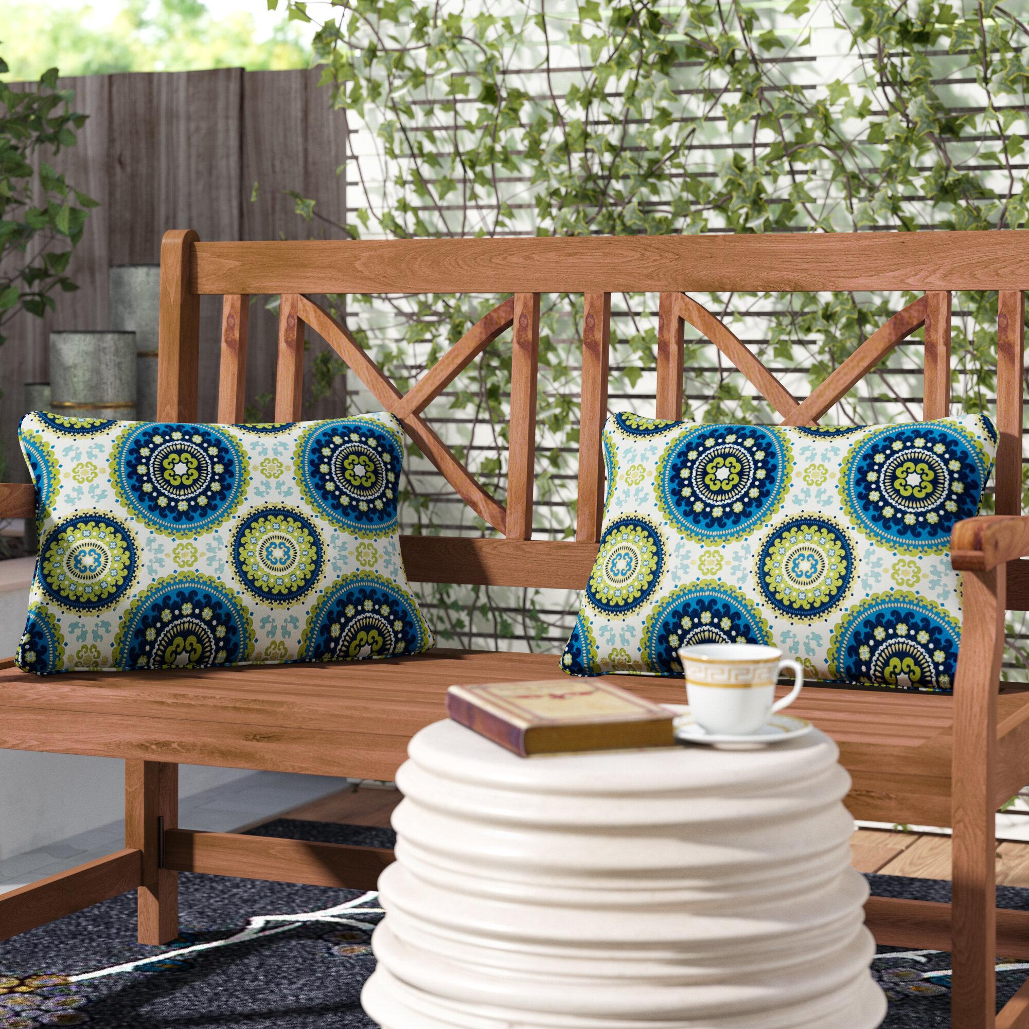 Bloomsbury Market Mcnamara Indoor Outdoor Lumbar Pillow Reviews Wayfair