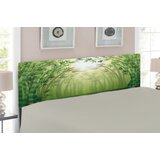 Bamboo Upholstered Panel Headboard by East Urban Home