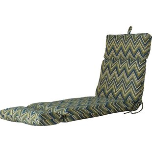 Latitude Run Indoor/Outdoor Sunbrella Chaise Lounge Cushion