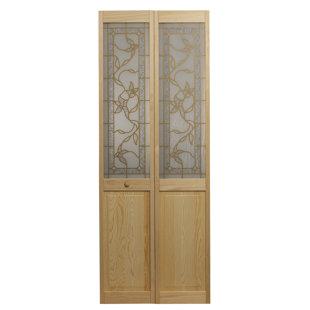 Solid Wood Glass Pine Bi-Fold Doors by LTL Bi-Fold Doors