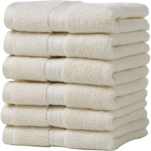 Suites 100% Cotton Washcloth (Set of 6)