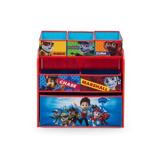 Reviews Nick Jr. PAW Patrol Toy Organizer ByDelta Children