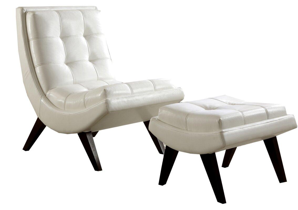 Breit Lounge Chair U0026 Ottoman Set