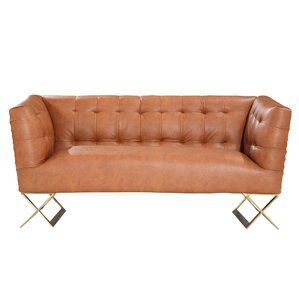 Pittman Chesterfield Loveseat by Mistana