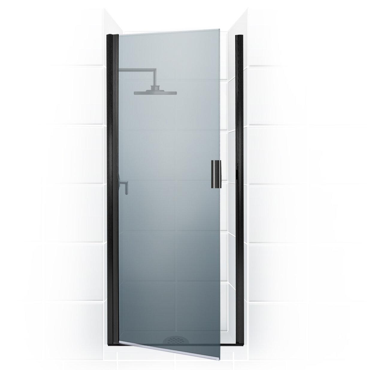 Paragon Series 25 X 69 Hinged Semi Frameless Shower Door