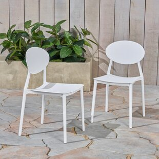 Dills Stacking Patio Dining Chair (Set of 2) by Ebern Designs