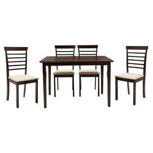 Andromeda Dining Set With 4 Chairs By Marlow Home Co.