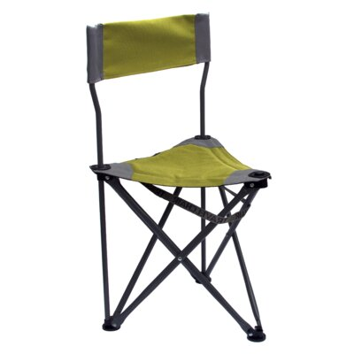 Travel Chair Ultimate Slacker Picnic Folding Camping Chair Fabric Colour: Green