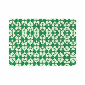 Celtic Pattern Memory Foam Bath Rug