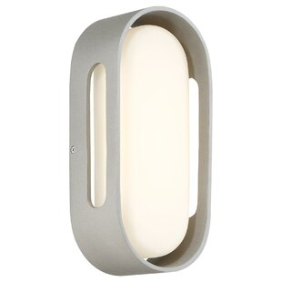 Dustin 1-Light Outdoor Flush Mount