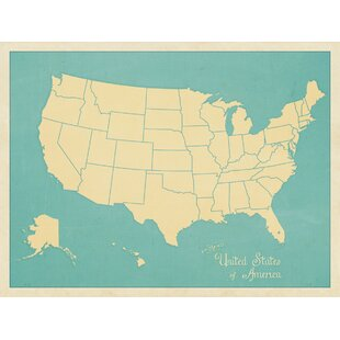 Usa Map Wall Art Wayfair