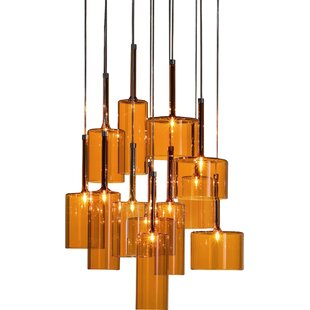 Ponca 12-Light Pendant by Bray..