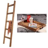 2 Piece American Serving Tray 6 ft Blanket Ladder