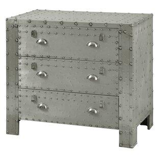 Leandra Industrial 3 Drawer Ch..
