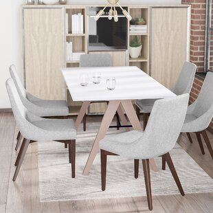 Bergevin Upholstered Dining Chair (Set of 2) Wade Logan