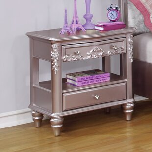 Compare & Buy Whitney 2 Drawers Nightstand by Viv + Rae Reviews (2019) & Buyer's Guide