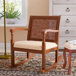 Douglass Rocking Chair by Three Posts