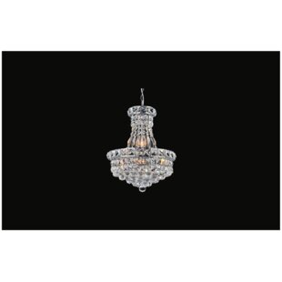 Luminous 8-Light Empire Chandelier by CWI Lighting