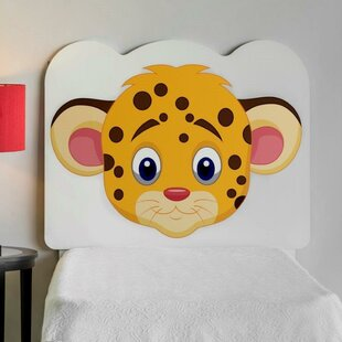 Reviews Rosetta Leopard Face Twin Panel Headboard by Zoomie Kids Reviews (2019) & Buyer's Guide