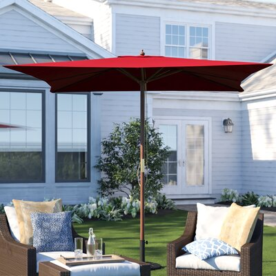 New Haven 8.5 Square Market Umbrella by Three Posts Reviews