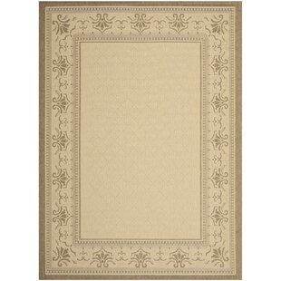 Beasley Vine Border Indoor/Outdoor Area Rug
