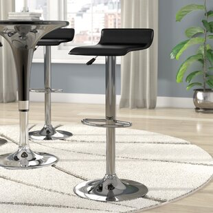 Crofts Adjustable Height Swivel Bar Stool..