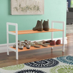 Price Check 8 Pair Shoe Rack By Rebrilliant