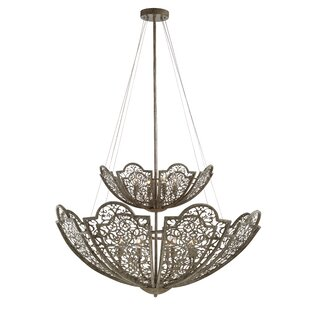 One Allium Way Camden 12-Light Bowl Pendant