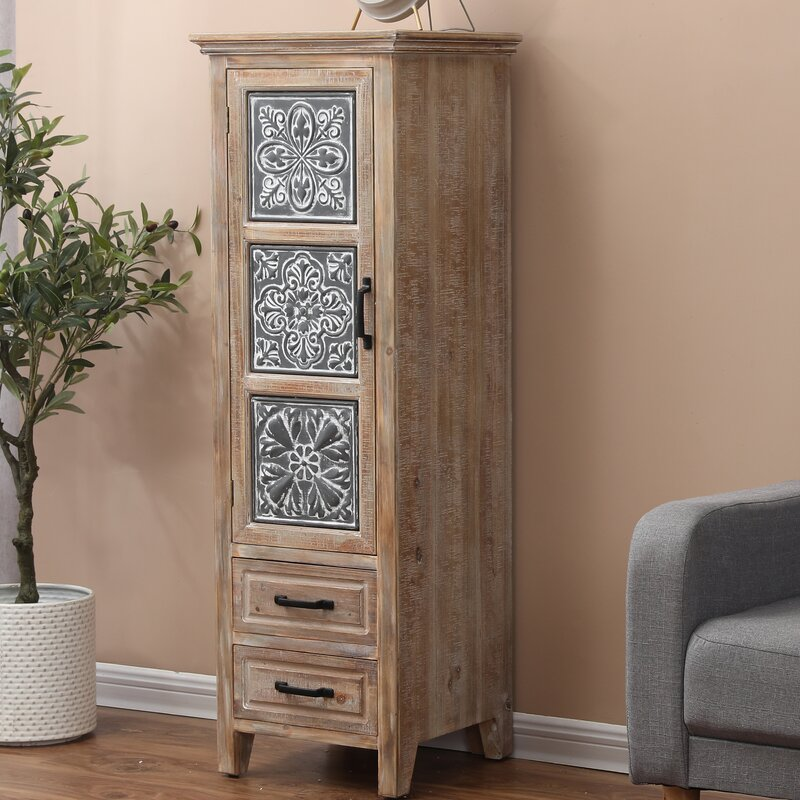 Habib 2 Drawer Accent Chest by World Menagerie
