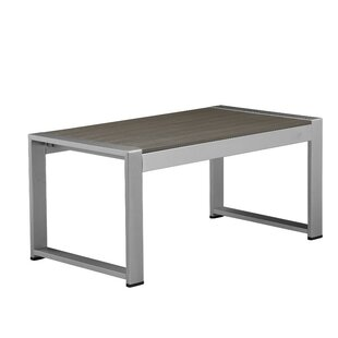 Ivy Bronx Biddlestone Idyllicly Flawless Anodized Aluminum Coffee Table
