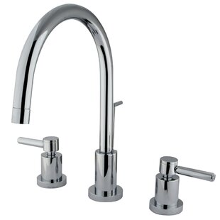 Elements of Design Concord Single Hole Widespread Bathroom Faucet